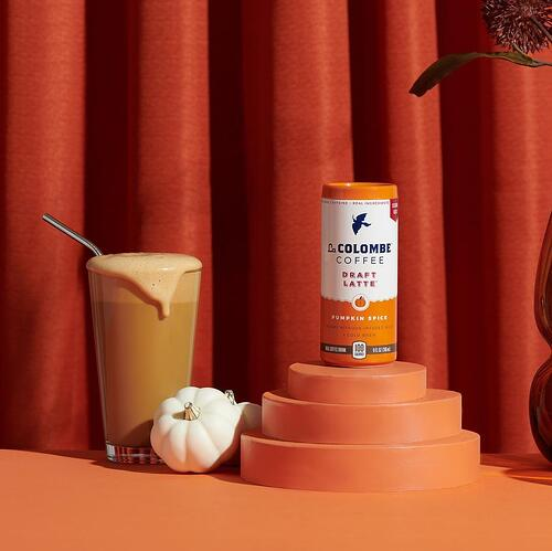 La Colombe Pumpkin Spice Draft Latte