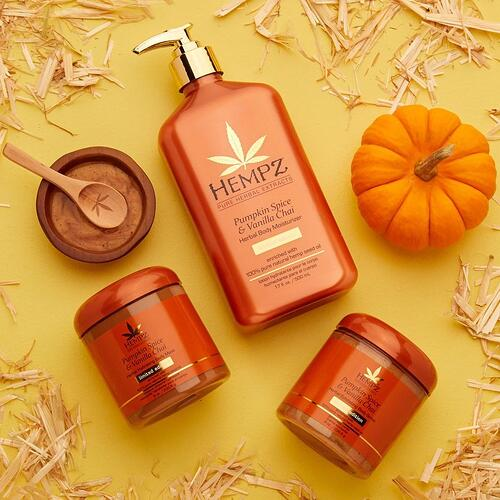Hempz Pumpkin Spice & Vanilla Chai Body Mask
