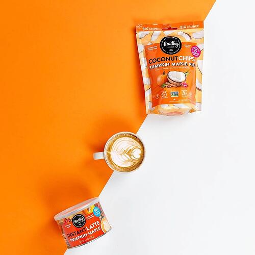Healthy Crunch- Pumpkin Maple Instant Latte