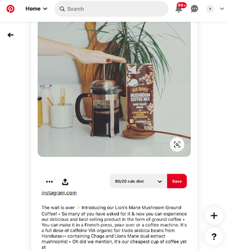 6 Examples of Brands Using Pinterest to Drive Traffic to Instagram-3a