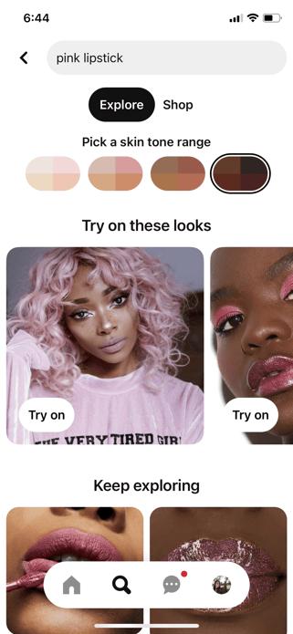 Pinterest-Try-On