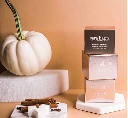 SAra Happ Pumpkin Spice Lip Scrub