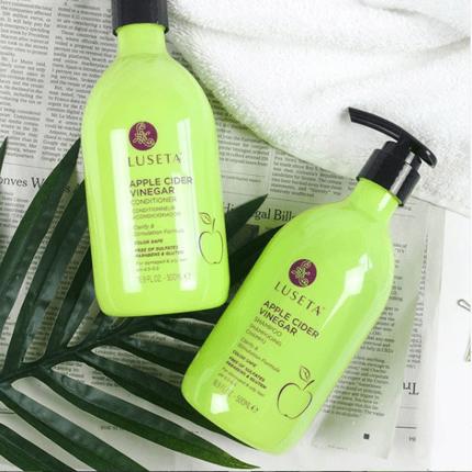 luesta beauty apple cider vinegar shampoo conditioner