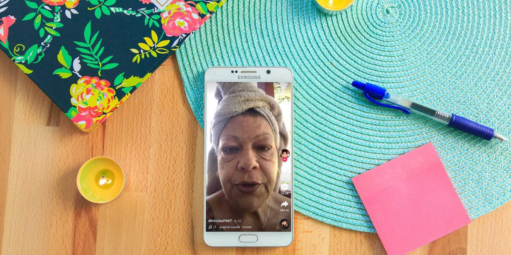 Trinidad Sandoval viral TikTok video
